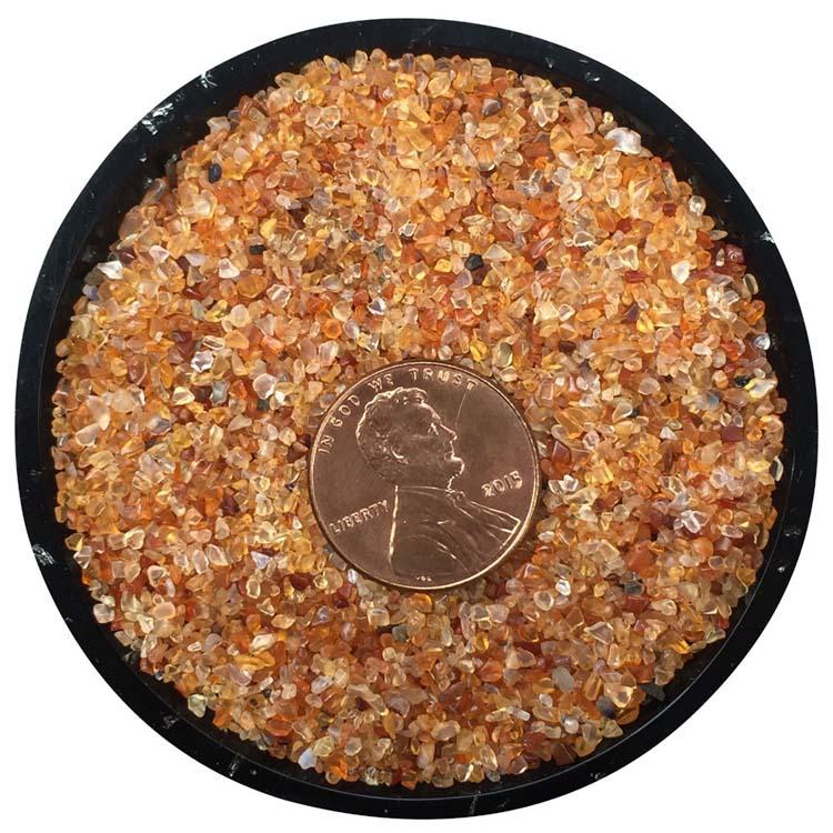 Carnelian Tiny Crystals - Size 000