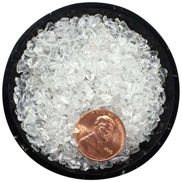 Clear Quartz Tiny Crystals - Size 0