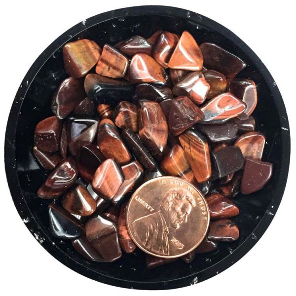 Red Tiger Eye Mini Crystals - Size 2