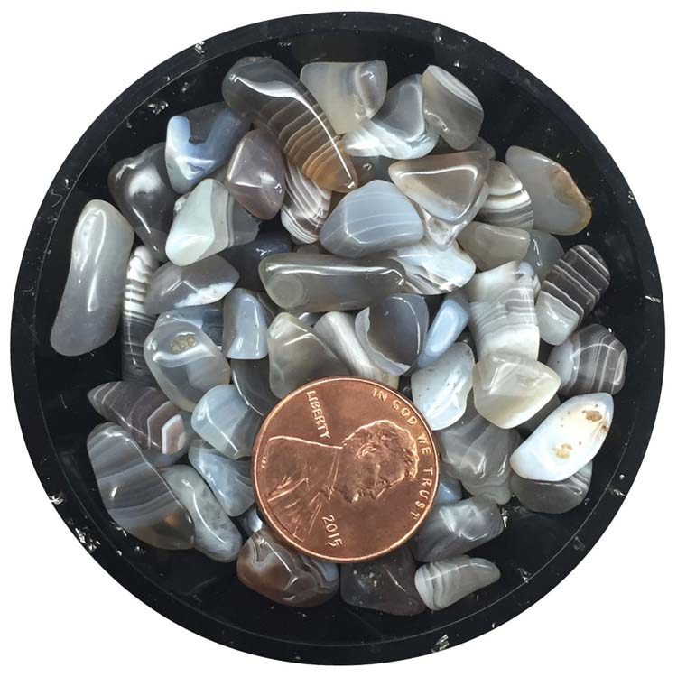 Botswana Agate Mini Crystals - Size 2
