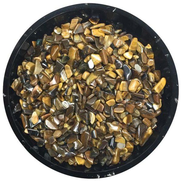 Gold Tiger Eye Chips Size 0