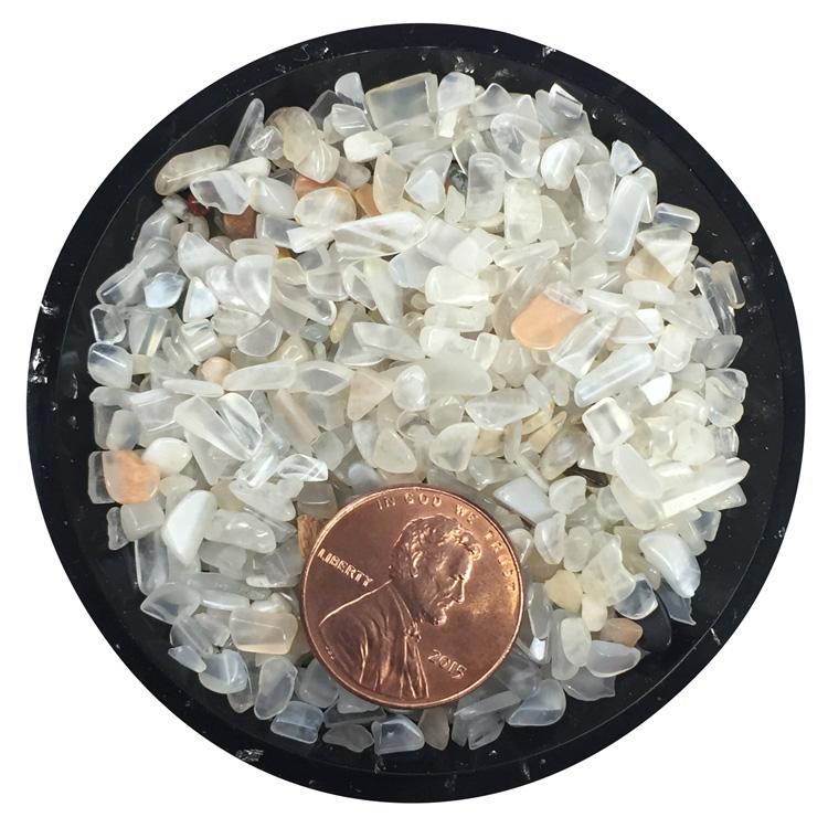 Moonstone Tiny Crystals - Size 0