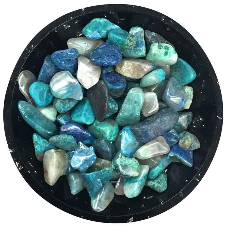 Chrysocolla Mini Crystals - Size 2