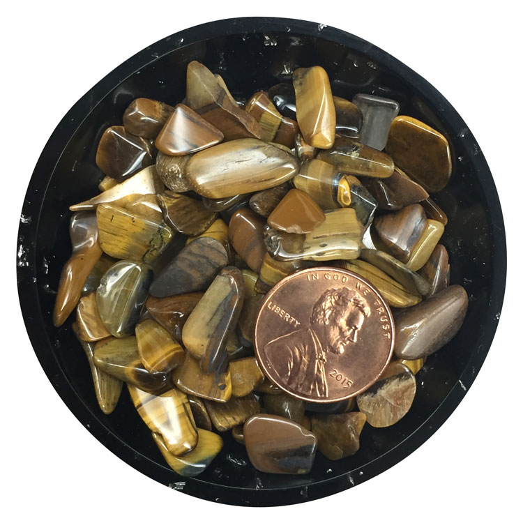 Gold Tiger Eye Mini Crystals - Size 2