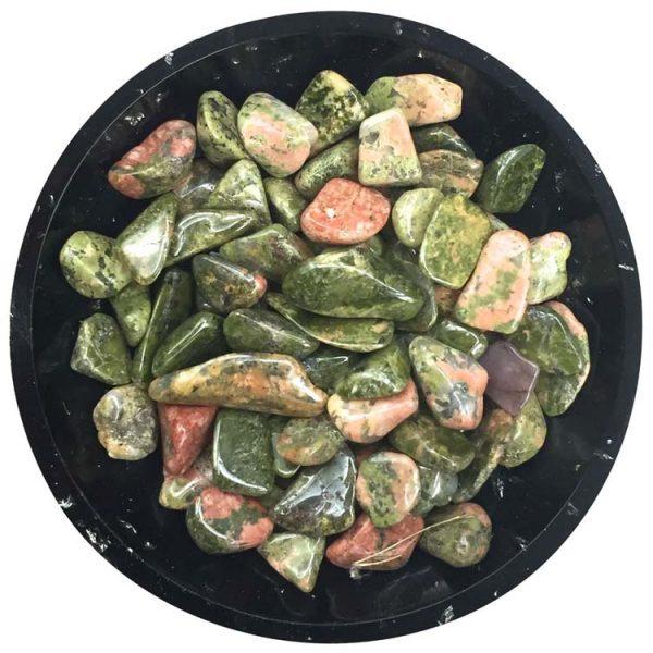 Unakite Mini Crystals - Size 2