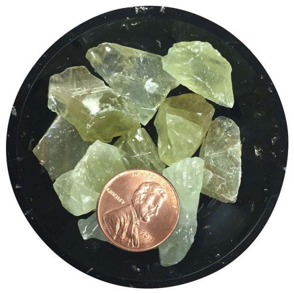 Green Calcite Crystals aka Kryptonite
