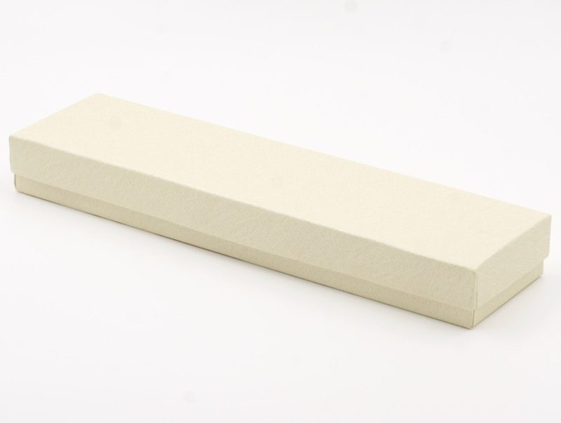 One (1) Rectangle Gift Box with cotton filler