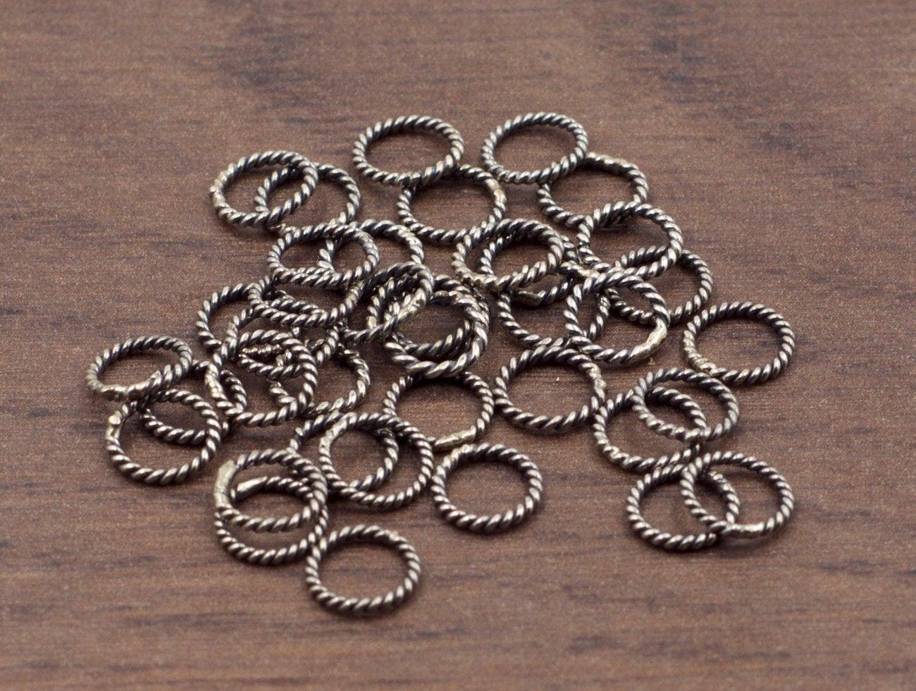 20pcs All Sizes Jumprings-Jewelry Findings-Sterling Silver Findings-Solid Sterling Silver Jump Rings,Jumprings-18 Gauge SKU: 205118