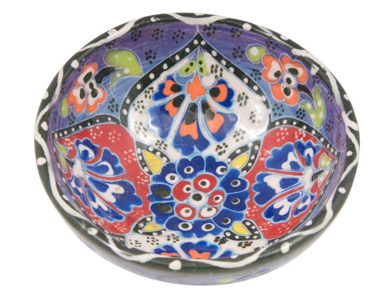 Hand Painted Trinket Bowl Ring Dish   Jewelry Dish   4.75 inch Decorative Ceramic Bowl   Jewelry Holder   Trinket Dish