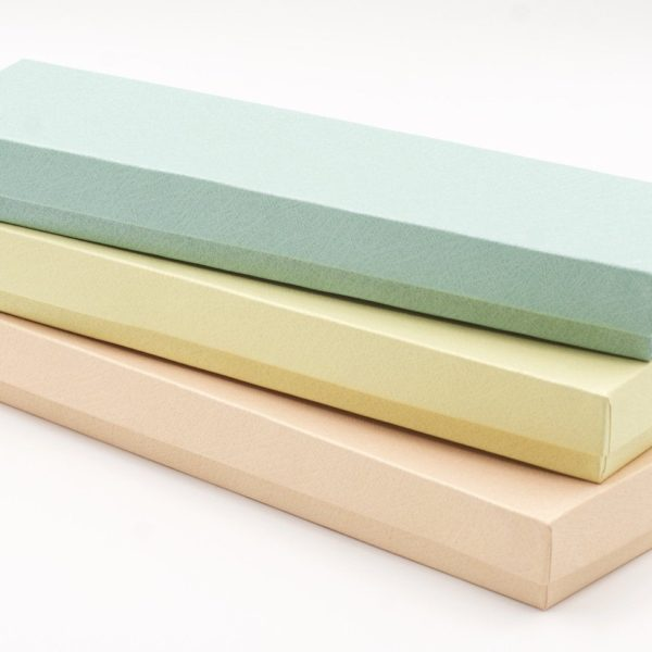 Three (3) Rectangle Gift Boxes with cotton filler