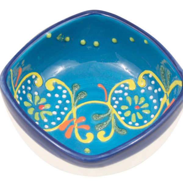 Hand Painted Ring Dish Trinket Bowl | Jewelry Holder | Jewelry Dish | Four (4) inch Decorative Ceramic Bowl