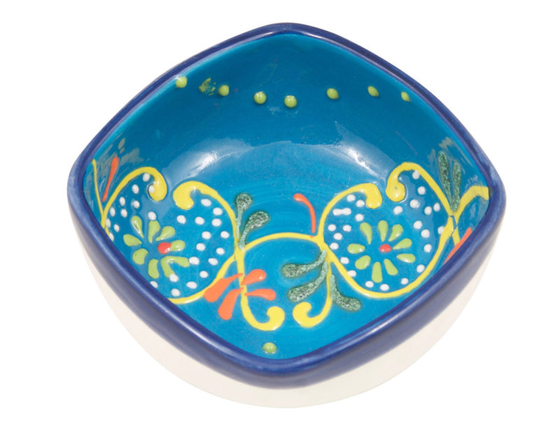 Hand Painted Ring Dish Trinket Bowl   Jewelry Holder   Jewelry Dish   Four (4) inch Decorative Ceramic Bowl