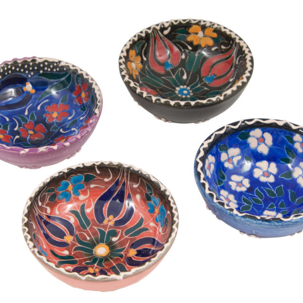 Hand Painted Ring Dish Trinket Bowl | Colorful Ring Dishes | Decorative Ceramic Bowls | Wedding Ring Dish | Jewelry Holder | Jewelry Dish