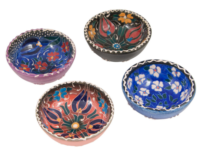 Hand Painted Ring Dish Trinket Bowl   Colorful Ring Dishes   Decorative Ceramic Bowls   Wedding Ring Dish   Jewelry Holder   Jewelry Dish