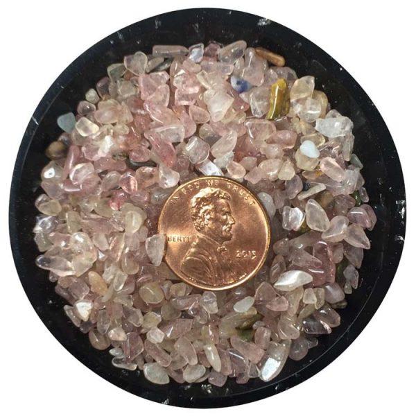 Pink Aventurine Tiny Crystals - Size 0