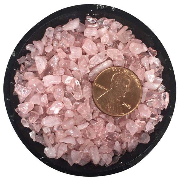 Rose Quartz Tiny Crystals - Size 0