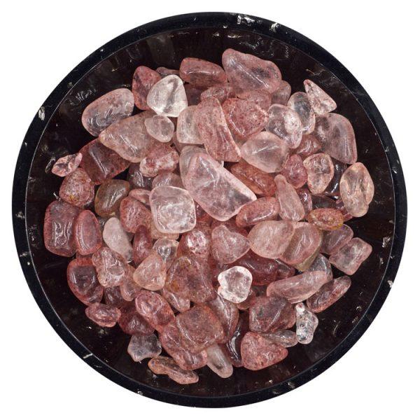 Strawberry Quartz Tiny Crystals - Size L1