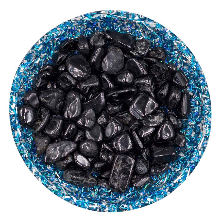 Black Tourmaline Mini Crystals - Size 2