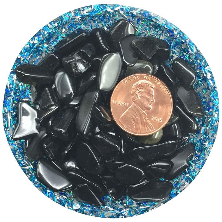 Black Obsidian Mini Crystals - Size 2