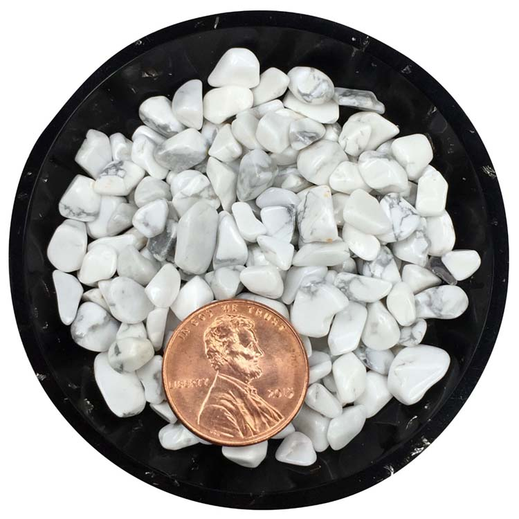 Howlite Tiny Crystals - Size S1