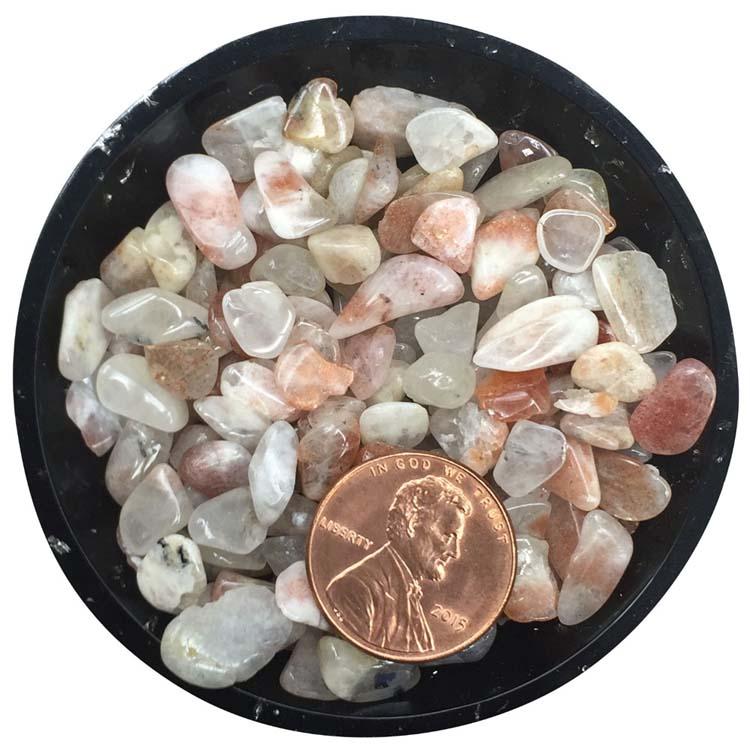Sunstone Tiny Crystals - Size L1