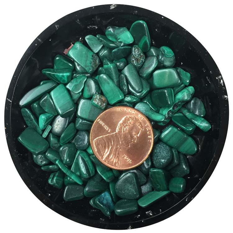 Malachite Mini Crystals - Size 2